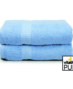 Vitality Pur Handdoek Lichtblauw